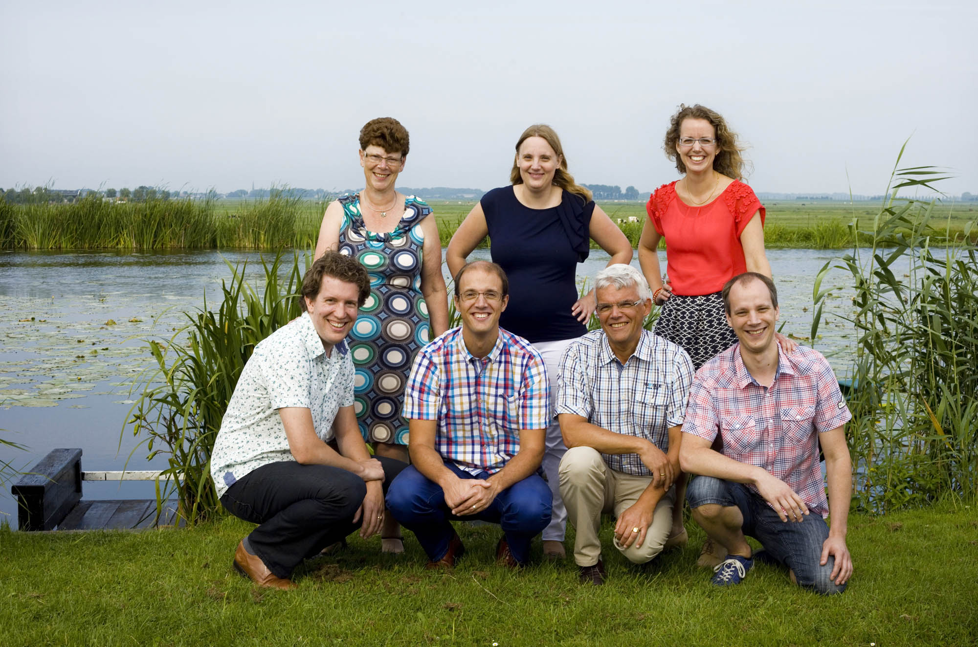 Foto gezinsportret familieportret weiland Molendriegang Leidschendam Den Haag
