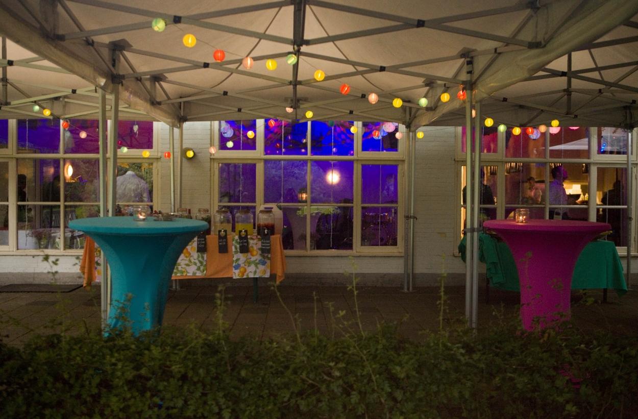 sfeerverlichting feestverlichting decoraties trouwfeest lampjes Hertenhorst Delft