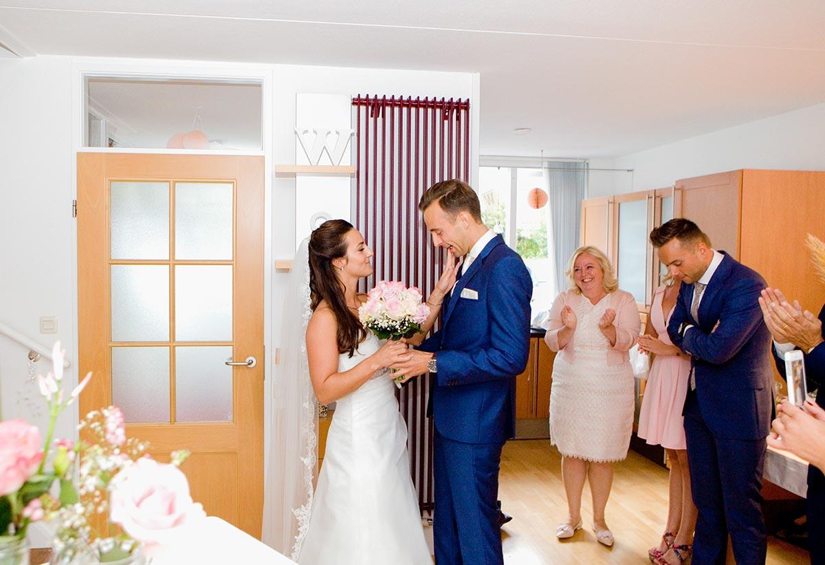 Ophalen bruiloft Raadhuis Leidschendam en Witte Paard Nootdorp