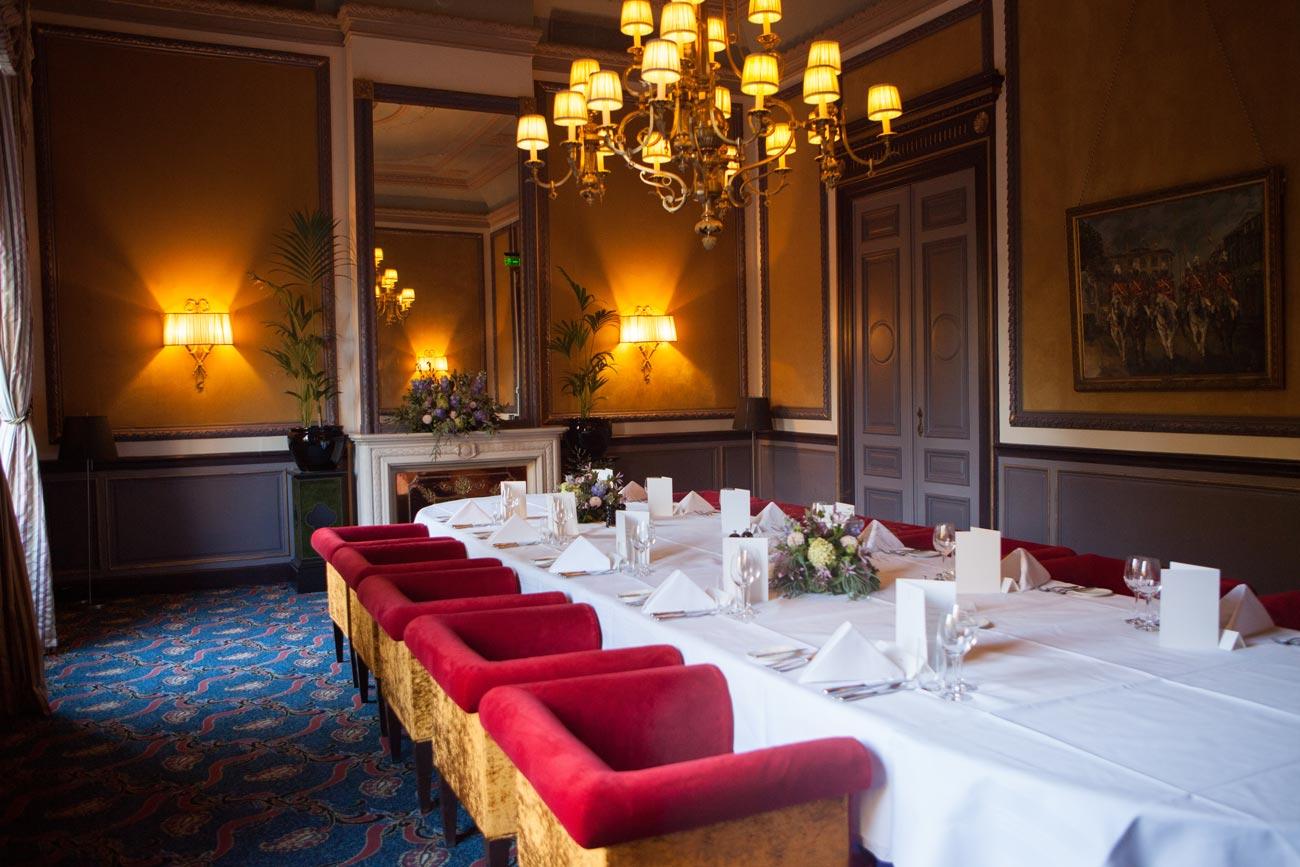 Diner Hotel Des Indes Den Haag van Brienenzaal