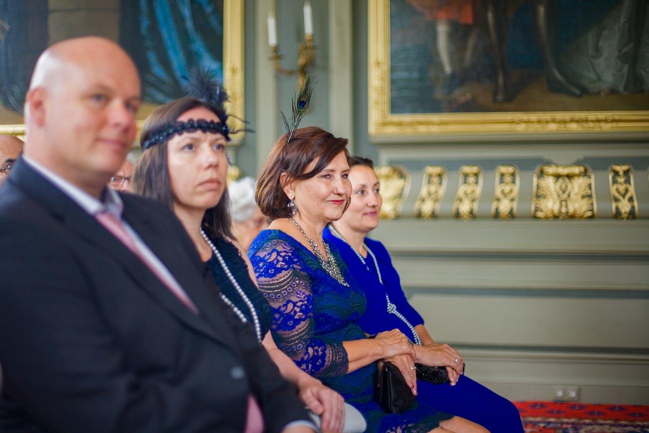ceremonie Marotzaal Kasteel Duivenvoorde Voorschoten