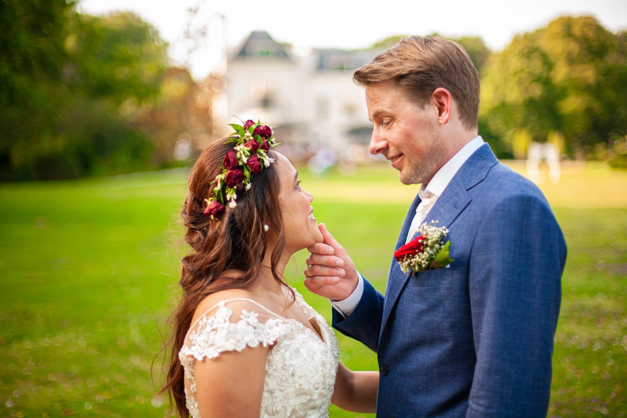 Bruidsfotograaf den haag landgoed te werve